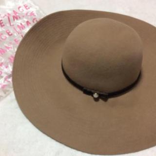 イマージュ(IMAGE)の【image】⭐︎新品、未使用⭐︎オシャレな女優帽/マーキュリーデュオ リエンダ(ハット)