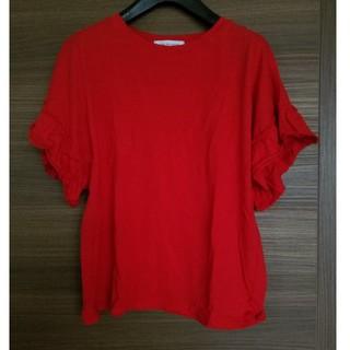 アズールバイマウジー(AZUL by moussy)の【着用回数1回】Tシャツ カットソー トップス(Tシャツ(半袖/袖なし))