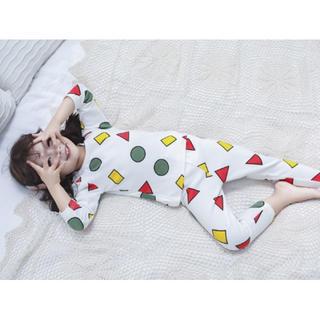 ♡激カワ♡新品 パジャマ 男女OK!部屋着 長袖 パンツ セットアップ 可愛い (パジャマ)
