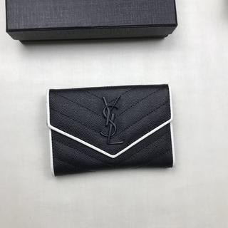 イヴサンローランボーテ(Yves Saint Laurent Beaute)の♪イヴサンローラ♪ 小銭入れ・コインケースカード入れ ブラック(コインケース)