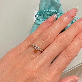 ティファニー(Tiffany & Co.)のティファニーソリティア 4号(リング(指輪))