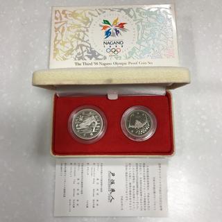 長野オリンピック冬季競技大会(第3次) プルーフ貨幣セット(貨幣)