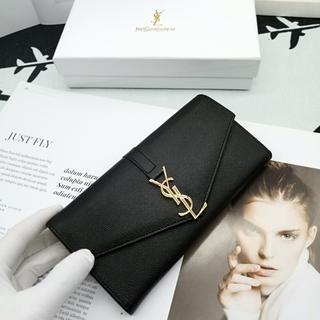 Yves Saint Laurent Beaute - ❀美品!❀イヴ♪サンローラ 折り財♥布 ホワイト 小銭♪入れ