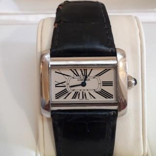 カルティエ(Cartier)のCartierミニタンクディヴァン(腕時計)
