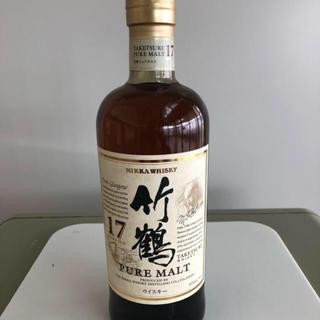 竹鶴 17年 新品 700ml 未開封 2本(ウイスキー)