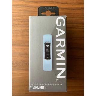 ガーミン(GARMIN)の新品未使用 GARMIN VIVOSMAST4 水色 (腕時計)