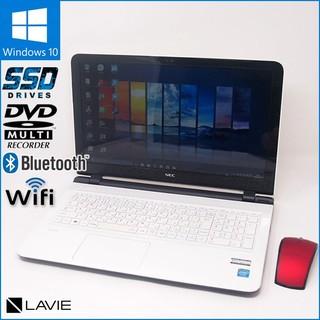 NEC - 数量限定無線マウスセット Windows10 ノートPC NEC LS150/S