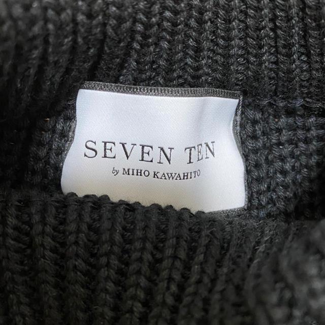 Chesty(チェスティ)のSEVENTEN セブンテン カットジャガードスリーブニット レディースのトップス(ニット/セーター)の商品写真