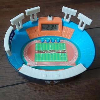 キリンチャレンジカップ2014国立競技場型時計(ノベルティグッズ)
