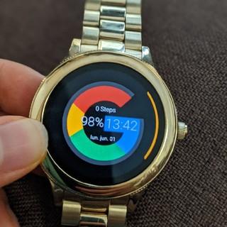 フォッシル(FOSSIL)のFossil Q venture Gen 3 値下げ中(腕時計(デジタル))