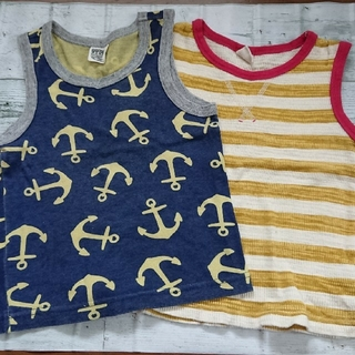 エフオーキッズ(F.O.KIDS)のタンクトップまとめ売り  100cm(Tシャツ/カットソー)