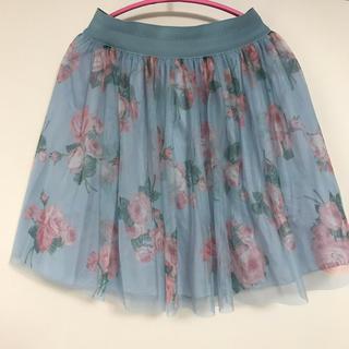 JaneMarple - jane marple 花柄チュールスカート