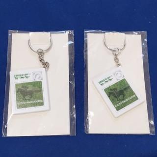 非売品 京都競馬場 パズルキーホルダー JRA(ノベルティグッズ)