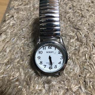 SCRIPT 腕時計(腕時計)