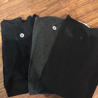 ルルレモン(lululemon)のlululemon  athletica Tシャツ 3枚セット(ヨガ)
