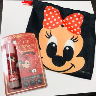 Disney - リップクリーム ミニーマウス