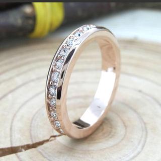 SWAROVSKI - スワロフスキー フルエタニティリング 8号 指輪