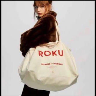 BEAUTY&YOUTH UNITED ARROWS - roku 1周年限定 トートバッグ