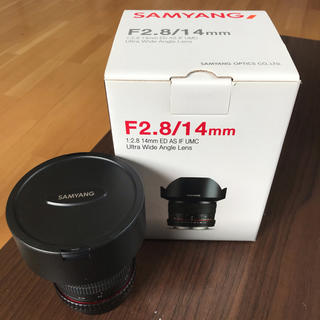 SAMYANG  F2.8  14mm canon用(レンズ(単焦点))