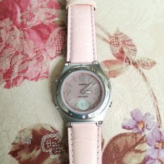 カシオ(CASIO)のCASIO女性用ソーラ電波時計(腕時計)