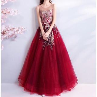 演奏会 カラードレス パーティードレス 結婚式 披露宴 ウェディング 上品(ロングドレス)