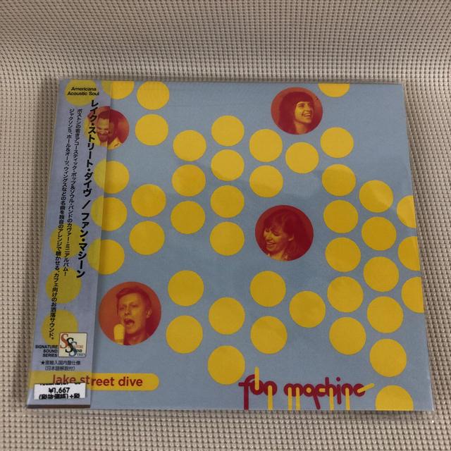 【美品】Lake Street Dive / Fun Machine エンタメ/ホビーのCD(ポップス/ロック(洋楽))の商品写真