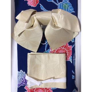 化繊 作り帯 浴衣帯(浴衣帯)