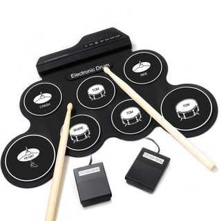 値下げセール☆電子ドラムセット ペダル スティック付き 練習・入門・新品送料無料(電子ドラム)