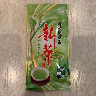 新品未開封 鹿児島県産 新茶 80g(茶)