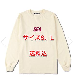 SEA - SEA(FOIL) L/S T-SHIRT / IVORY (CS-208)