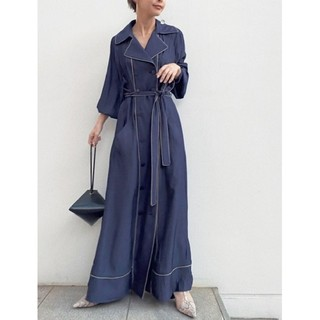 Ameri VINTAGE - アメリヴィンテージ LOOSE TRENCH LIKE DRESS