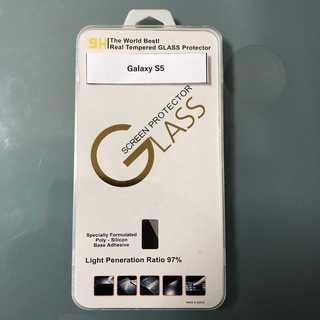 Galaxy S5 高級 ガラス保護フィルム(保護フィルム)