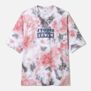 ジーユー(GU)のオーバーサイズT5分袖STUDIO SEVEN 2+X コラボ(Tシャツ/カットソー(半袖/袖なし))