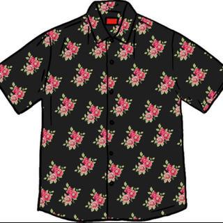 シュプリーム(Supreme)のsupreme rayon shirt シュプリーム レーヨン シャツ(シャツ)