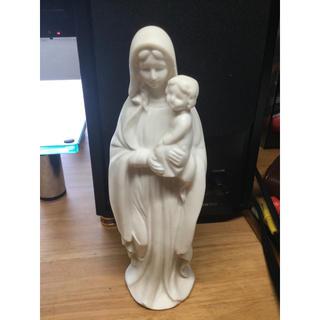 幼子イエスを抱くマリアの像 16.6cm(彫刻/オブジェ)
