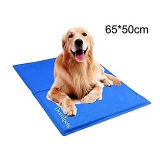 L size(65*50cm)ペット冷え冷えシート 犬ひんやりマット 猫熱中症対(犬)