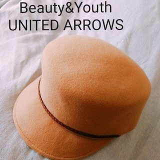 BEAUTY&YOUTH UNITED ARROWS - ユナイテッドアローズ キャスケット UNITED ARROWS ハットキャップ