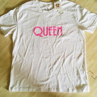 ジーユー(GU)のQueen グラフィックTシャツ 新品 XL(Tシャツ(半袖/袖なし))