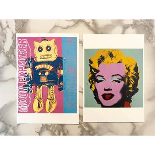 アンディウォーホル(Andy Warhol)のアンディウォーホル展 アメリカンポップアート展 限定ポストカード2枚セット(その他)