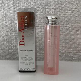 ディオール(Dior)のディオール アディクト dior addict リップグロウ 004コーラル(リップケア/リップクリーム)