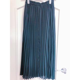 ジーユー(GU)のプリーツスカート♡ロングスカート【美品】(ロングスカート)