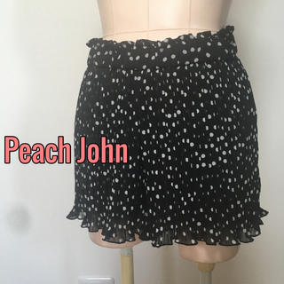 PEACH JOHN - Peach John♡ドット柄プリーツ キュロット