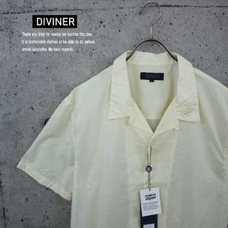 ジョーカー(JOKER)のDIVINER 新品 国産 ローン刺繍半袖開襟シャツ ライトイエローM(シャツ)
