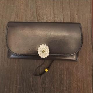 goro's - 《美品》ゴローズ(goro's)二つ折り財布(黒) k71