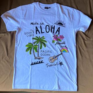 Tシャツ Hawaiiお土産(キーホルダー)