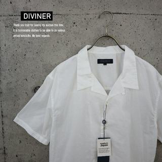 ジョーカー(JOKER)のDIVINER 新品 国産 ローン刺繍半袖開襟シャツ オフM(シャツ)