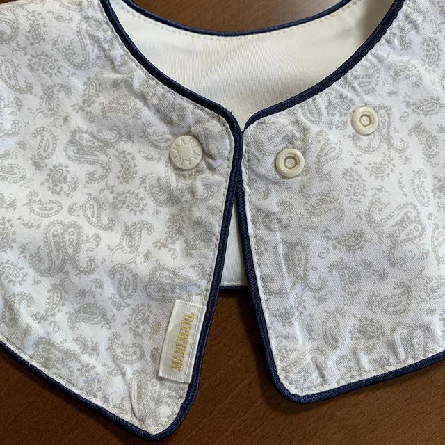 MARLMARL リボンスタイ キッズ/ベビー/マタニティのこども用ファッション小物(ベビースタイ/よだれかけ)の商品写真