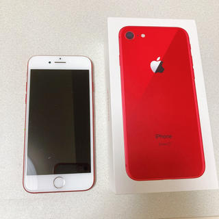 iPhone - iphone7 Red SIMフリー
