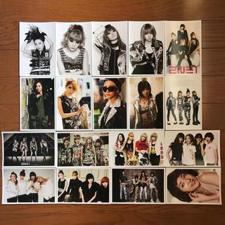 2NE1 グッズ ポストカード(アイドルグッズ)
