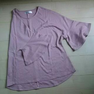 ドルマン7分丈Tシャツ(カットソー(長袖/七分))